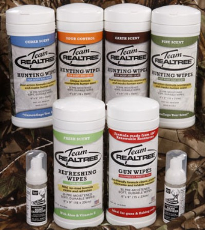 realtree wipes and gun wipes